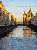 Church of the Savior on Spilled Blood, St. Petersburg. Russia Royalty Free Stock Photo