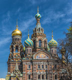 Church of the Savior on Blood, Saint Petersburg, Russia Stock Photo