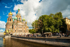 Church of the Savior on Blood in Saint-Petersburg, Russia. Stock Photo