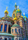 Church of Savior on Blood, St. Petersburg Royalty Free Stock Images
