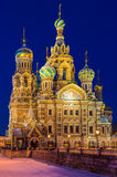 Church of the Savior on Blood in St. Petersburg Royalty Free Stock Images