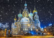 Church of the Savior on Blood In St. Petersburg, Russia.  Stock Photography