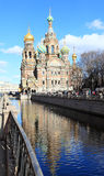 Church of the Savior on Blood in St. Petersburg, Russia Stock Photos