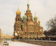Church of the Savior on Blood in St Petersburg Royalty Free Stock Images