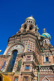 Church of The Savior On Blood Stock Photography