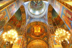 Church of the Savior on Blood in St. Petersburg, Russia Stock Image