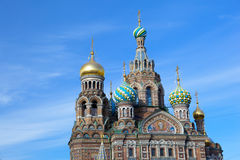 Church of the Savior on Blood at St Petersburg, Russia Royalty Free Stock Image
