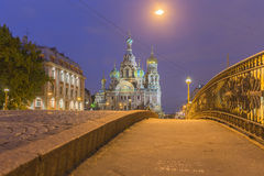 Church of the Savior on Blood at St.Petersburg, Russia Stock Photo