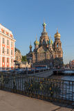 Church of the Savior on Blood at St.Petersburg, Russia Royalty Free Stock Photos