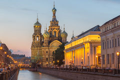 Church of the Savior on Blood at St.Petersburg, Russia Royalty Free Stock Images