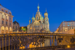 Church of the Savior on Blood at St.Petersburg, Russia. The Church of the Savior on Spilled Blood is one of the main sights of St. Petersburg, Russia. Other Royalty Free Stock Image