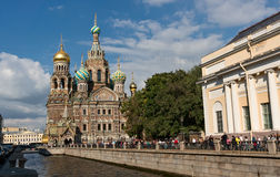 Church of the Savior on Blood in St Petersburg Royalty Free Stock Photos
