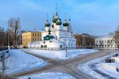 Church of the Savior on the city Spasa na gorodu, Yaroslavl Stock Image