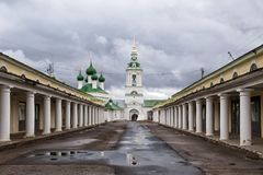 Church of Savior in Kostroma, Russia. Church of Holy Savior on the marketplace. Kostroma, Russia Stock Images