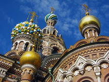 Church of the Savior on the Sp Royalty Free Stock Photography
