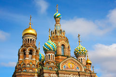 Church of the Savior on Spilled Blood. St. Petersburg, Russia Royalty Free Stock Photography