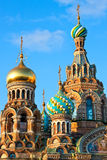 The Church of the Savior on Spilled Blood royalty free stock images