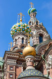 Church of the Savior on Spilled Blood (Cathedral of the Royalty Free Stock Image