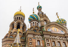 Church of the Savior on Spilled Blood (Cathedral of Resurrection). stock images