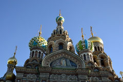 Church of the Savior on Spilled Blood. Stock Image