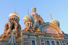 Church of the Savior on Spilled blood. Stock Images