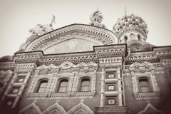 Church of the Savior on Spilled blood. Stock Photography