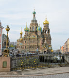 Church of the Savior on Spilled Blood Stock Images