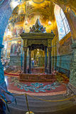 Church of the Savior on Spilled Blood. Interior. Royalty Free Stock Photography