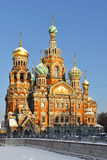 Church of Savior on Spilled Blood (1907) Royalty Free Stock Photo