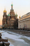 Church of Savior on Spilled Blood  Stock Images