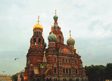 Church of the Savior on Spilled Blood Royalty Free Stock Image