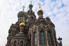St Petersburg Church Savior on Spilled Blood Stock Photography
