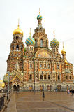 Church of the Savior on Spilled Blood in Petersburg, Russia Stock Photos