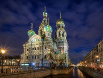 The Church of the Savior on Spilled Blood Stock Photos