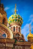 Church of the Savior on Spilled Blood in Saint Petersburg. Russia Stock Photos