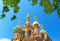 Church of the Savior on Spilled Blood in Saint Petersburg, Russi Stock Photography