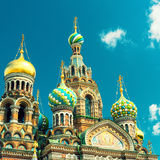 Church of the Savior on Spilled Blood in Saint Petersburg, Russi Royalty Free Stock Image