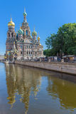 Church of the Savior on Spilled Blood in Saint Petersburg, Russi. A Royalty Free Stock Image