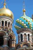 The Church of the Savior on Spilled Blood, Saint Petersburg Stock Photos
