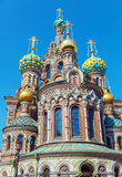 The Church of the Savior on Spilled Blood, Saint Petersburg. Russia Royalty Free Stock Photography