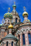 Church of the Savior on Spilled Blood in Saint Petersburg. Russia Stock Images