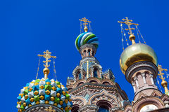 The Church of the Savior on Spilled Blood, Saint Petersburg. Russia Stock Photos