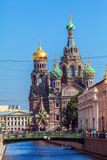 The Church of the Savior on Spilled Blood, Saint Petersburg. Russia Royalty Free Stock Image