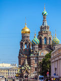 The Church of the Savior on Spilled Blood, Saint Petersburg. Russia Stock Images