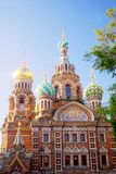 Church of the Savior on Spilled Blood. Saint-Petersburg, Russia. Royalty Free Stock Photo