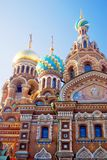 Church of the Savior on Spilled Blood. Saint-Petersburg, Russia. Stock Photos