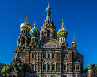 Church of the Savior on Spilled Blood. In St.Peterburg Stock Photos