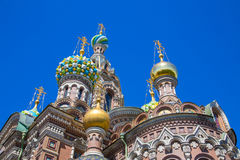 Church of the Savior on Spilled Blood, St Petersburg Stock Photos