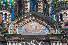 Church of the Savior on Spilled Blood, St Petersburg Stock Images