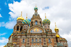 Church of the Savior on Spilled Blood, St Petersburg Royalty Free Stock Image